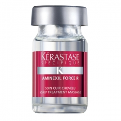 Kerastase Specifique Aminexil Force R - Уход Аминексил против выпадения волос ампулы, 10*6 мл