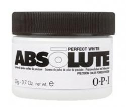 OPI Absolute Perfect White - Пудра самая белая, 20 г