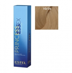 Estel Princess Essex - Краска для волос 10/36 светлый блондин золотисто-фиолетовый, 60 мл