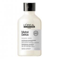 L'Oreal Professionnel Metal Detox Shampoo - Очищающий крем-шампунь 300 мл