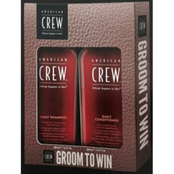 American Crew - Подарочный набор Daily Shampoo, 250мл+ Daily Conditioner, 250 мл)