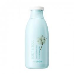 The Saem Body Soul Cotton Milk Lotion - Лосьон для тела молочный, 300 мл