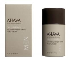 Ahava Time To Energize Soothing After-Shave Moisturizer - Успокаивающий увлажняющий крем после бритья, 50 мл