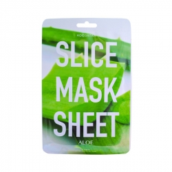 Kocostar Slice Mask Sheet ALOE- Маска-слайс для лица, алоэ вера, 20 мл