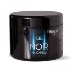 Dikson Barber Pole Noir Gel Sculpting Black Gel - Моделирующий гель, возвращает седым волосам цвет, 500 мл