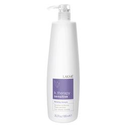 Lakme K.Therapy Sensitive Relaxing shampoo sensitive hair&calp - шампунь успокаивающий для чувствительной кожи головы и волос 1000 мл