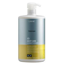 Lakme Teknia Deep care conditioner - кондиционер восстанавливающий, для сухих или поврежденных волос 1000 мл