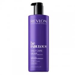 Revlon Be Fabulous Daily Care Fine Hair  Lightweight Shampoo - Очищающий шампунь для тонких волос, 1000 мл