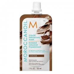Moroccanoil Color Depositing Mask Cocoa - Тонирующая маска (какао) 30 мл