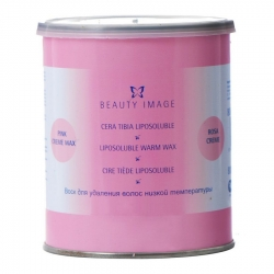 Beauty Image - Воск в банке Розовый с розовым маслом, 800 г