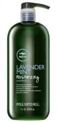 Paul Mitchell Lavender Mint Moisturizing Shampoo - Увлажняющий шампунь с экстрактом лаванды и мяты 1000 мл