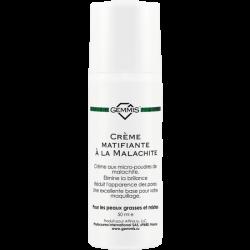 Gemmis Crème matifiante à la Malachite - Малахитовый крем матирующий, 50 мл