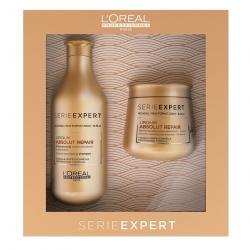 L'Oreal Professionnel Absolut Repair Lipidium - Набор шампунь 300 мл+маска 250мл