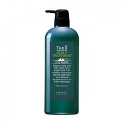 Lebel Theo Scalp Treatment Ice Mint - Крем-уход для кожи головы и волос мужской 600 мл