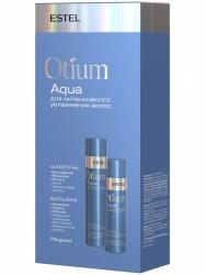 Estel Otium Aqua - Новинка Набор для интенсивного увлажнения волос (шампунь 250 мл, бальзам 200 мл)