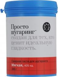 Gloria Просто Шугаринг - Сахарная паста для депиляции, мягкая, 330 г