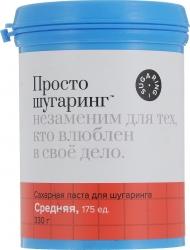 Gloria Просто Шугаринг - Сахарная паста для депиляции средняя 330г