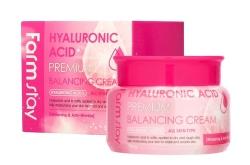 FarmStay Hyaluronic Acid Premium Balancing Cream - Крем балансирующий с гиарулоновой кислотой, 100 гр