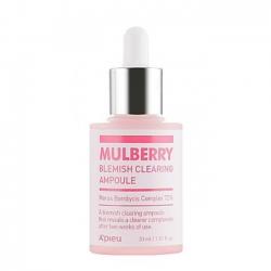A'PIEU Mulberry Blemish Clearing Ampoule - Сыворотка для проблемной кожи лица, 30 мл