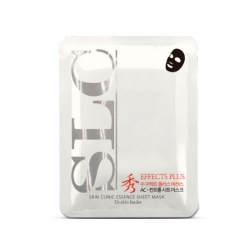 Anskin Soo Effect Sheet Mask Blemishcover - Маска для лица тканевая от покраснений и раздражений, 23 г