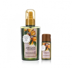 Welcos Confume Argan Treatment Oil - Масло аргановое для волос, 120мл/25мл