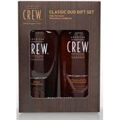 American Crew -  Набор fathers daily shampoo+ liquid wax duo