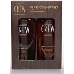 American Crew -  Набор fathers daily shampoo+ liquid wax duo