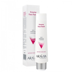 Aravia Professional Enzyme Face Polish - Паста-эксфолиант для лица с энзимами, 100 мл