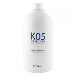 Kaaral К05 Shampoo Antiforfora - Шампунь против перхоти 1000 мл