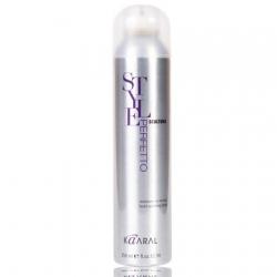Kaaral Style Perfetto Scultura Medium To Strong Hold Working Spray - Лак без газа для создания прически сильной фиксации, 350 мл