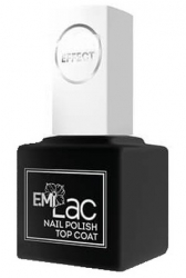 E.Mi Ultra Strong Top Coat Gel Effect - Покрытие верхнее для лака, 9мл