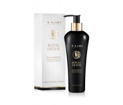 T-LAB Professional Royal Detox DUO Shampoo - ДУО-шампунь для абсолютной гладкости волос, 300мл