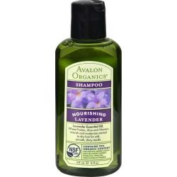 Avalon Organics Lavender Nourishing Shampoo travel size - Мини Шампунь лаванда, 57 г