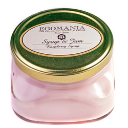 """Egomania Body Cream """" Raspberry Syrup """" (syrup and jam) - Крем для тела """"Малиновый Сироп"""" (Сироп И Джем) 370 мл"""