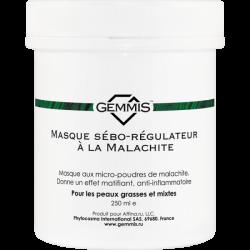 Gemmis Masque sébo-régulateur à la Malachite - Малахитовая маска себорегулирующая, 250 мл