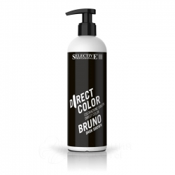 Selective Direct color Dark brown - Ухаживающая краска темно-коричневый 300 мл