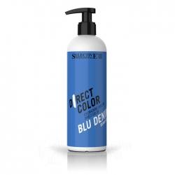 Selective Direct color Denim Blue - Ухаживающая краска синий джинсовый 300 мл