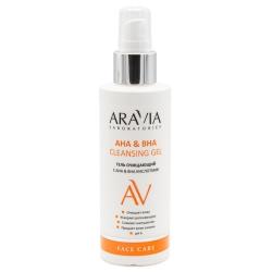 Aravia Laboratories АНА & ВНА Cleansing Gel - Гель очищающий с АНА & ВНА кислотами, 150мл