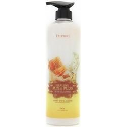 Deoproce Healing Mix & Plus Body Cleanser Honey White Jasmine - Гель для душа мед и жасмин, 750 мл