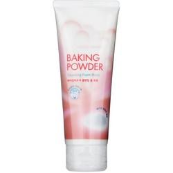 Etude House Baking Powder Cleansing Foam Moist - Пенка для умывания с содой увлажняющая 150 мл