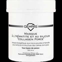 Gemmis Masque à L'Hématite et au silicium Collagen Force - Гематитовая Маска с кремнием Коллаген Форс, 250 мл