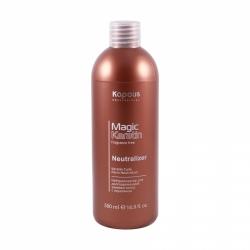 Kapous Fragrance Magic Keratin - Нейтрализатор для долговременной завивки волос с кератином, 500 мл