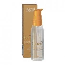 Estel Curex Brilliance - Флюид-блеск с термозащитой для всех типов волос, 100 мл