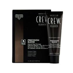 American Crew Precision Blend - Краска для седых волос натуральный оттенок 4/5 3*40 мл