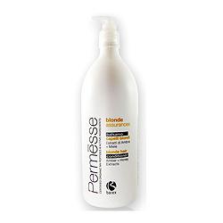 Barex Permesse Blonde Hair Conditioner with Amber and Honey extracts - Бальзам для осветленных волос с экстрактом янтаря и мёдом 1000 мл