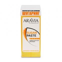 """Aravia Professional - Сахарная паста для депиляции в картридже """"Медовая"""" очень мягкой консистенции, 150 г"""