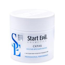 Aravia Professional Start Epil - Скраб против вросших волос с экстрактами морских водорослей 300 мл