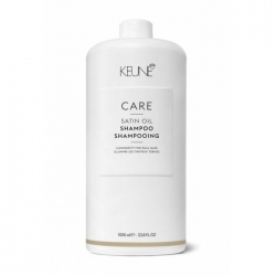 Keune Care Satin Oil Shampoo - Шампунь Шелковый уход 1000 мл