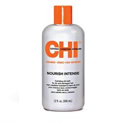 CHI Nourish Intense Hydrating Silk Bath - Шампунь Чи для сухих и поврежденных волос 355 мл