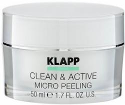 Klapp Clean&Active Micro Peeling - Базовый микропилинг из косточек арганы, 50 мл